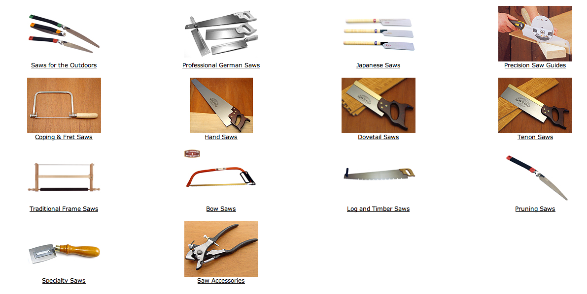 types of hand saws for wood